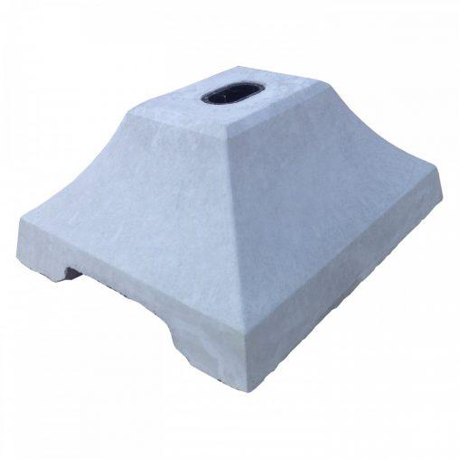 コンクリートベース1穴型 KA-1①